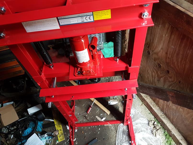 12 Tonne Hydraulic Press - eBay